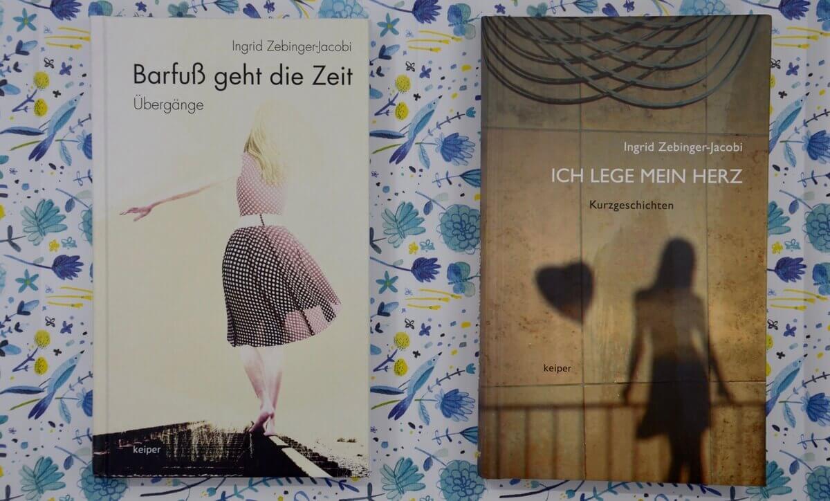 Ich lege mein Herz von Ingrid Zebinger Jacobi.