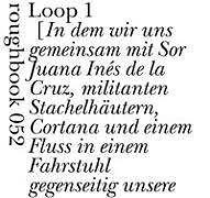Loops von Carla Cerda.