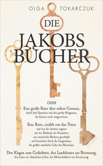 Die Jakobsbücher von Olga Tokarczuk.