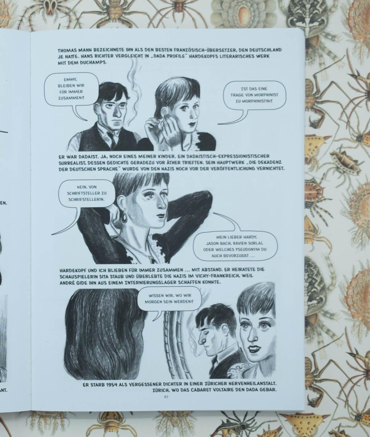 Bild aus Fernando González Viñas, José Lázaro: Alles ist Dada. Emmy Ball-Hennings.